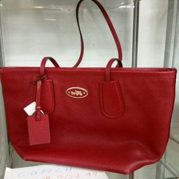 Sac à main rouge Coach 207,99 $
