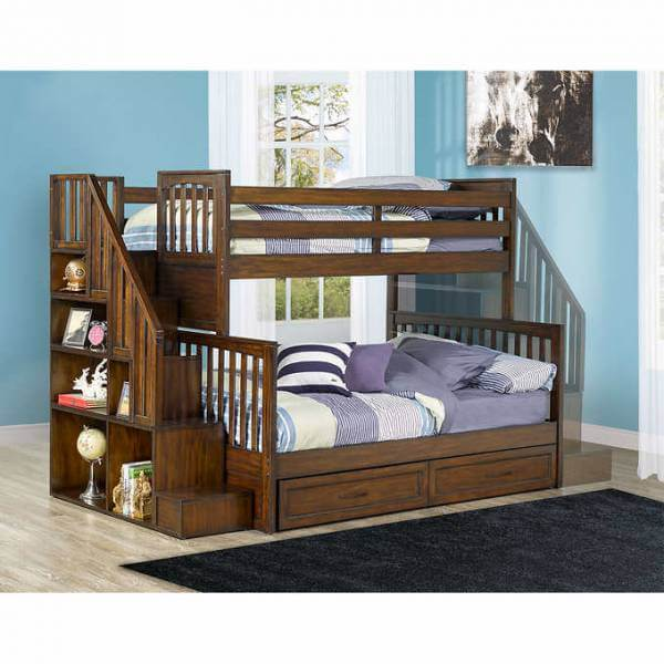 Zachary Twin Over Double Bunk Bed La Source Des Aubaines