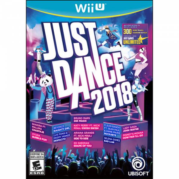Jeu Just Dance 2018 Wii u 1188742 32,49$