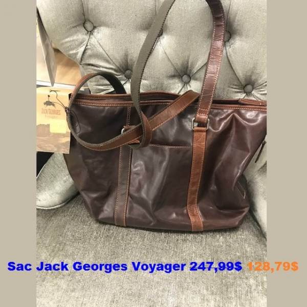 Sac à main Jack Georges Voyager 44A2 160,99$